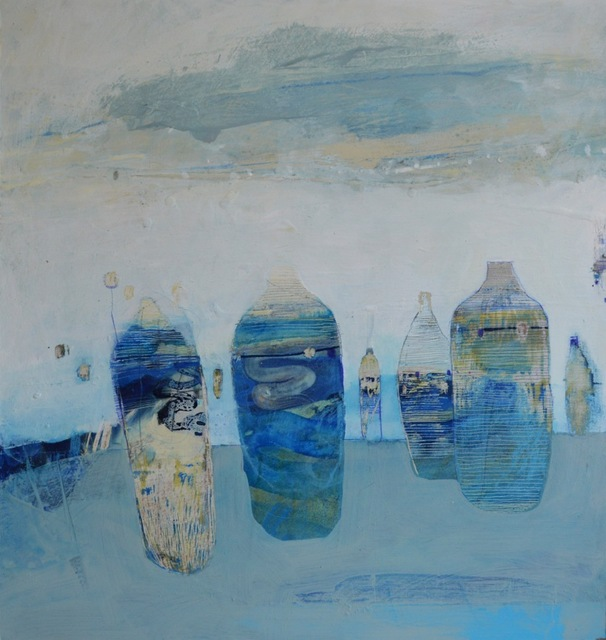 , 'Blue Containers,' ca. 2018, London Contemporary Art / Store Street Gallery
