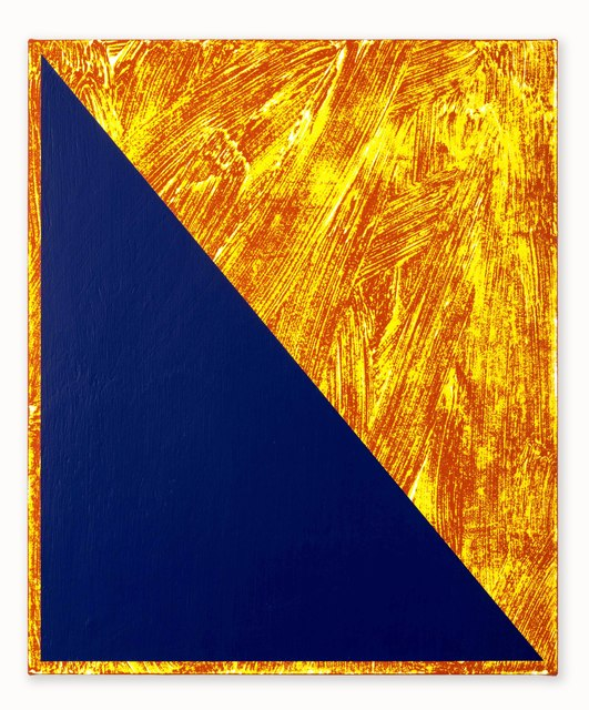 , 'Untitled (Triangle Painting #20),' 2015, CORDESA