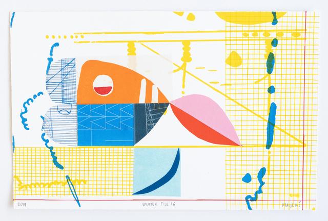 , 'Winter File 16,' 2019, David Krut Projects