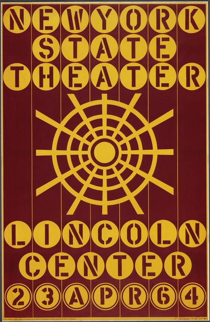 Robert Indiana, 'New York State Theater, Lincoln Center', 1964, OSME Fine Art