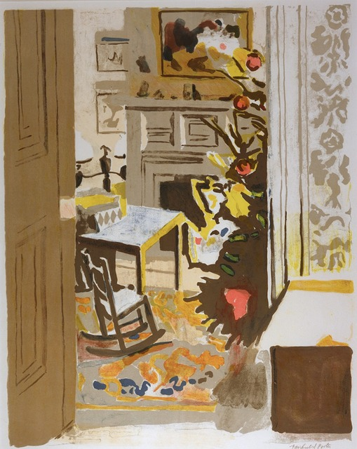 Fairfield Porter, 'The Christmas Tree ', 1971, Andrea S. Keogh Art and Design