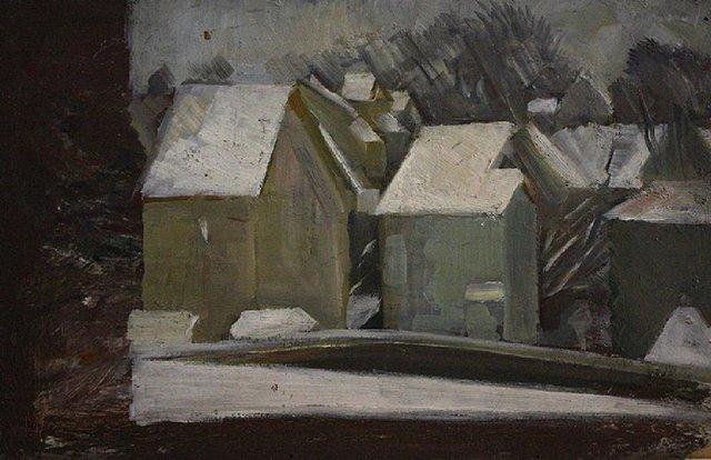 , 'Houses,' , The Loft Fine Art