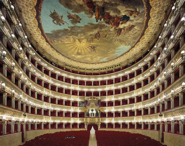 , 'Teatro di San Carlo, Naples Italy,' 2009, Rick Wester Fine Art