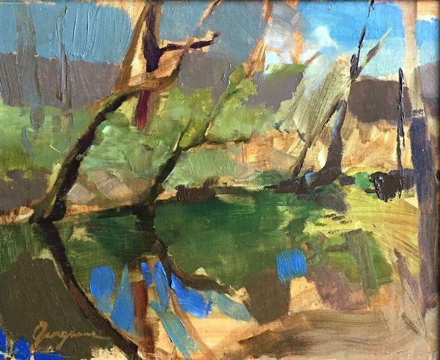 , 'Edwin Warner Park,' 2017, Red Arrow Gallery