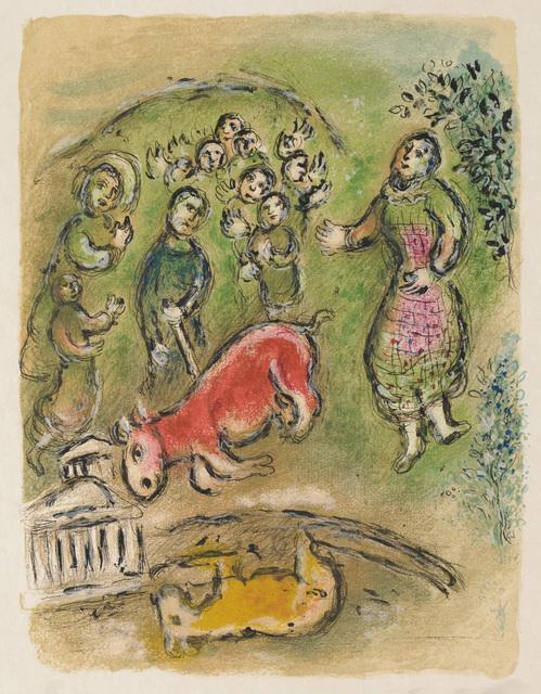 , 'Sacrifice at Athene (M.756, L'Odyssée),' 1974, Martin Lawrence Galleries