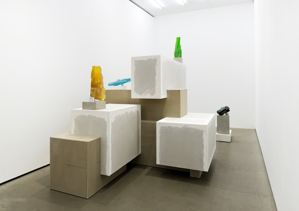 STONES, Installation view, Galerie EIGEN + ART Berlin, Photo: Uwe Walter