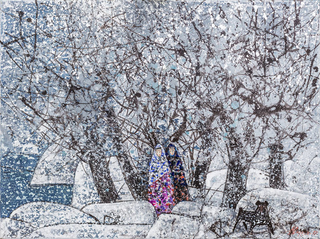 Farrukh Negmatzade, 'First snow', 2017, OYANU Gallery