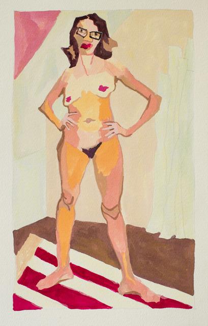 , 'Art Lady (study),' 2017, Jonathan Ferrara Gallery