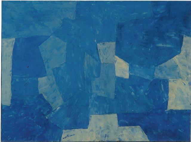 , 'Bleu,' 1958, Galerie Le Minotaure