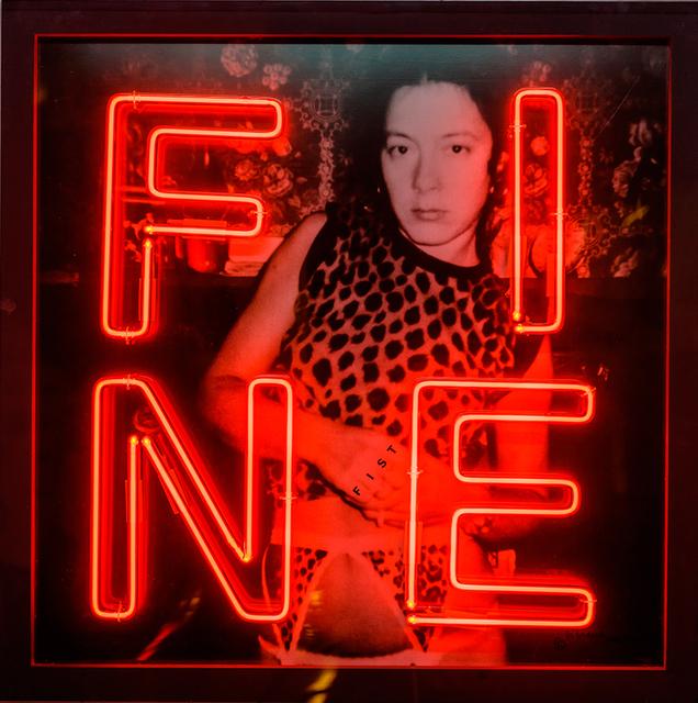 , 'Fine,' 1983, Galerie Zwart Huis