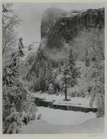 Ansel Adams, El Capitan, Winter, Yosemite National Park
