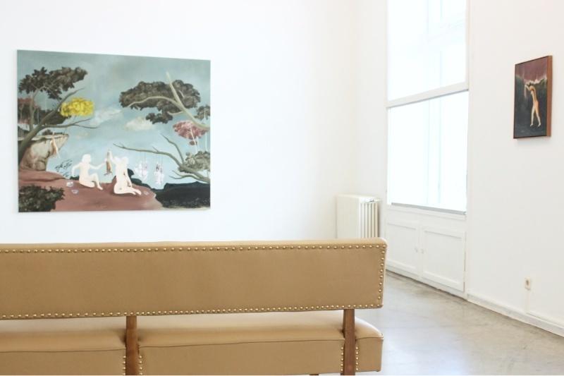 exhibition view SUMMER IN THE CITY, Christine König Galerie, Vienna, 2016
