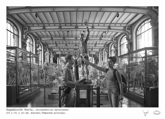 , 'Antropometrías Aproximadas - Edición Paris,' 2013, Instituto de Visión
