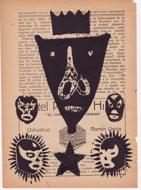 Victoria Behm, 'Boletin de la Sociedad Chihuaha', 2012, 440 Gallery