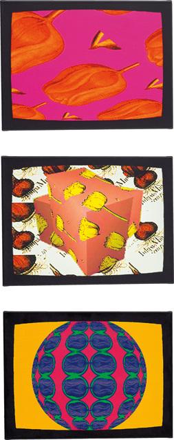Nam June Paik, 'TV Tulips: three works', 2000, Phillips