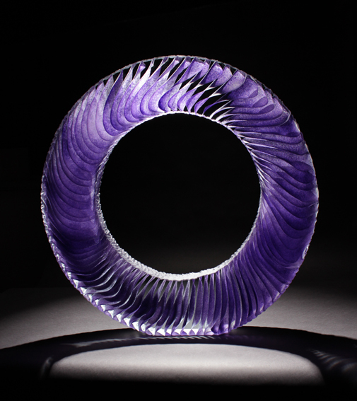 , 'Colour Saturation: Purple Ring,' 2016, Adrian Sassoon