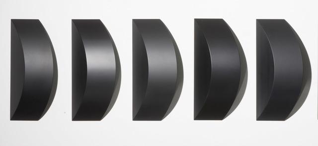 , 'Black Oblivion (5 piece set),' 2011, Madison Gallery