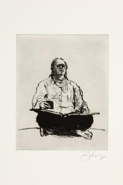 William Kentridge, 'Scribe', 2011, David Krut Projects