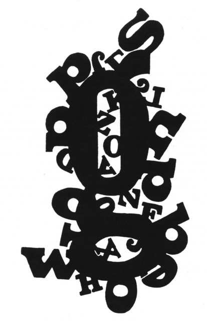 , 'Texto V 68,' 1984, WALDEN