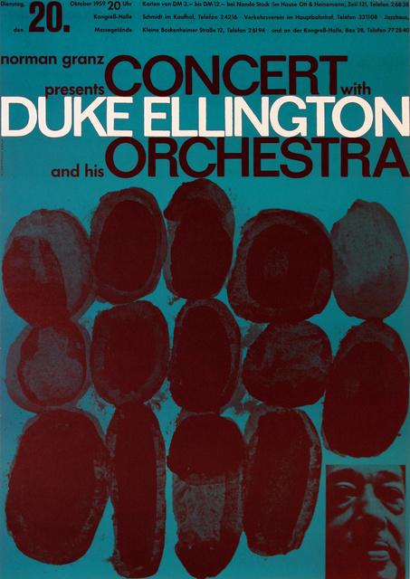 , 'Duke Ellington and his Orchestra ,' 1959, Omnibus Gallery