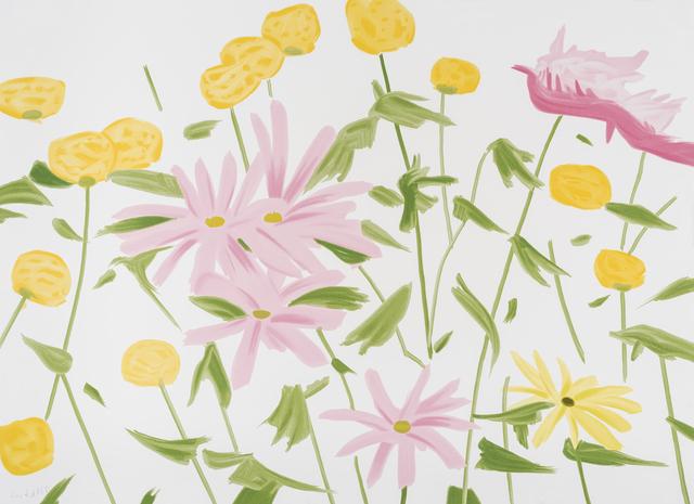 Alex Katz, 'Spring Flowers', 2017, Jim Kempner Fine Art