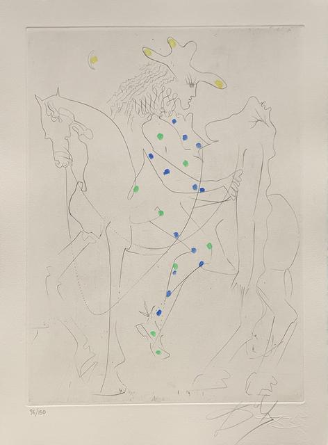 Salvador Dalí, 'Picasso's Horse', 1968, Galerie d'Orsay