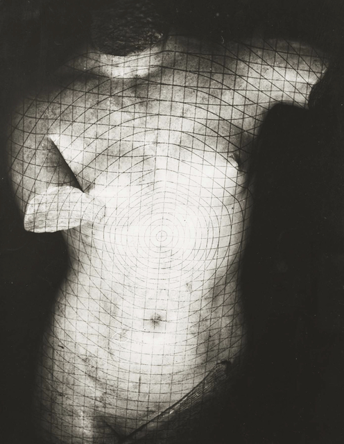 , 'Grid on plaster, Paris,' 1937, Corkin Gallery