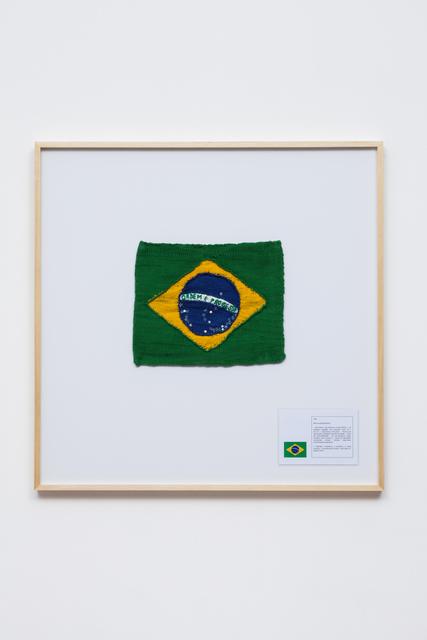 , 'National Flag #1,' 2015, Galeria Leme