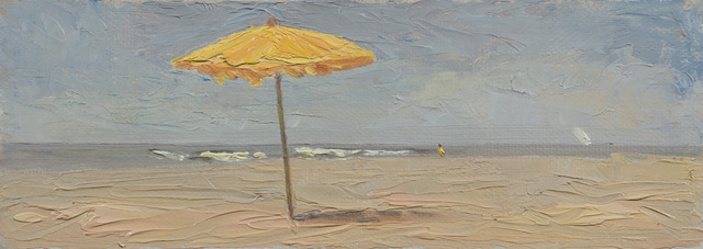 , 'The Yellow Umbrella,' 2016, Grenning Gallery