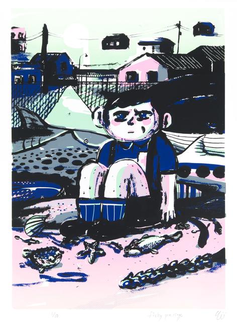 , 'The Fishy Passage,' 2015, Hong Kong Open Printshop