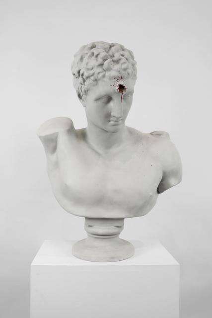 , 'Bullet Hole Bust,' 2006, Lazinc