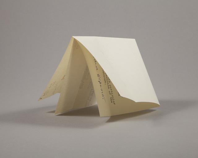 Lenka Clayton, 'Letter from a Sculptor (Hepworth)', 2019, Catharine Clark Gallery