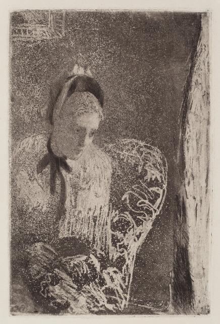 Mary Cassatt, 'Waiting', ca. 1879, National Gallery of Art, Washington, D.C.