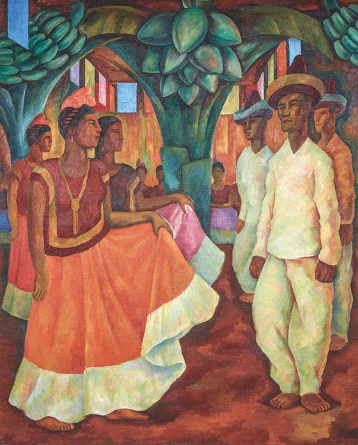 , 'Baile en Tehuantepec,' 1928, MALBA