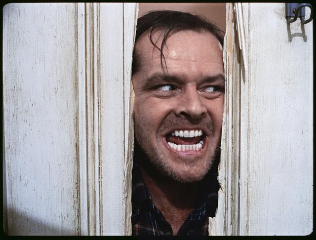 , 'The Shining, directed by Stanley Kubrick (1980; GB/United States). Jack Nicholson as Jack Torrance.,' 1980, Kunstforeningen GL STRAND