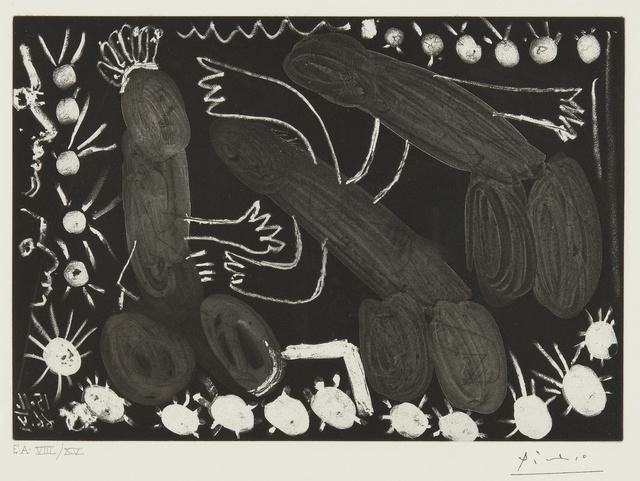 Pablo Picasso, 'Untitled: 15 Novembre 1966 V (B. 1417)', Print, Aquatint and etching, Sotheby's