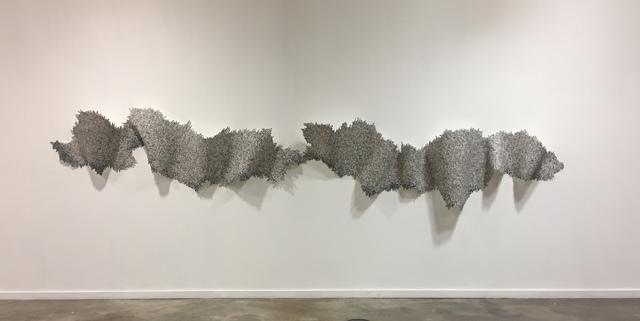 Miki Baird, '...traces #2', 2017, Haw Contemporary