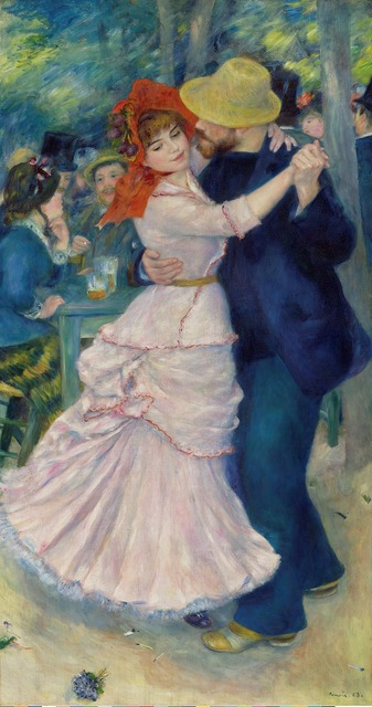 , 'Dance at Bougival,,' 1883, The National Gallery, London