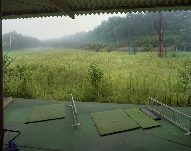 , 'Golf driving range, Mukaihata, Okuma-machi, Futaba, Fukushima Nuclear Exclusion Zone,' 2013, Ronald Feldman Gallery