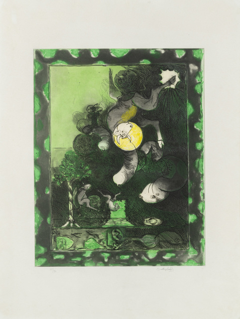 Graham Sutherland, 'Untitled', Print, Multiple, color lithograph, Martini Studio d'Arte