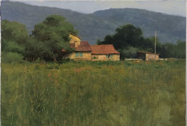 Donald W. Demers, 'Farmhouse in Provence', 2017, Helena Fox Fine Art