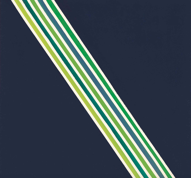 , 'Ribboned II,' 1965, Berry Campbell Gallery