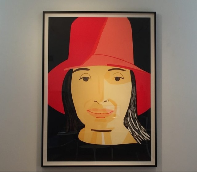 Alex Katz, 'Red Hat Ada', 2015, Frank Fluegel Gallery