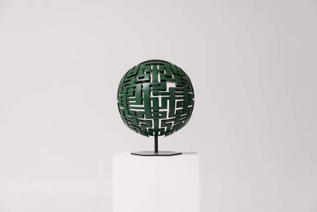 , 'Green Sphere,' 2017, Herringer Kiss Gallery