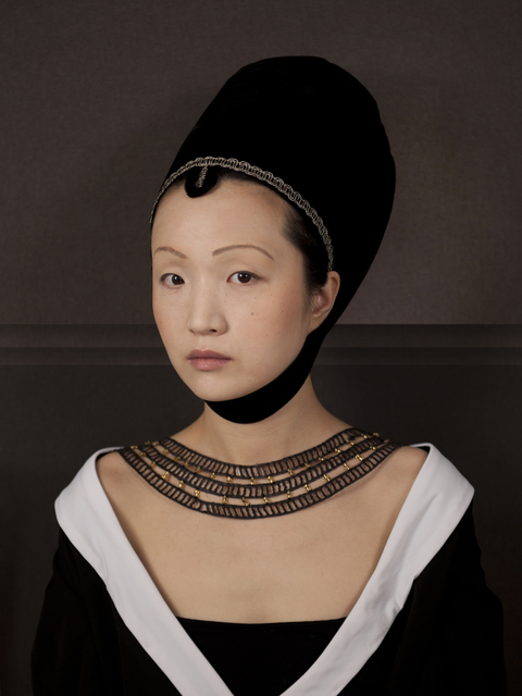 , 'Ode to Petrus Christus' Portrait of a Woman,' 2012, Jonathan Ferrara Gallery