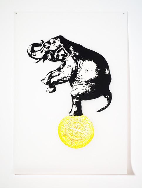 , 'Circus (Yellow),' 2012, C. Grimaldis Gallery