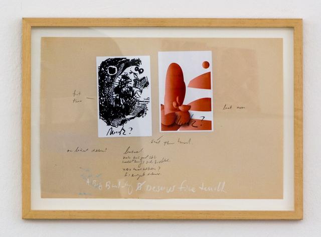 , 'Look Mum,' 2017, Christine König Galerie