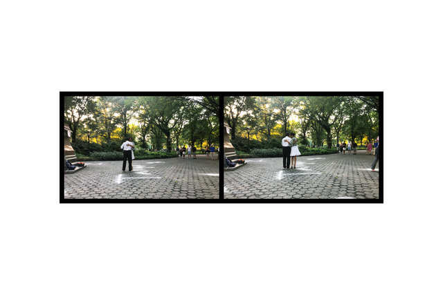 Eve Sonneman, 'Tango, Central Park, New York', 2018, Nohra Haime Gallery