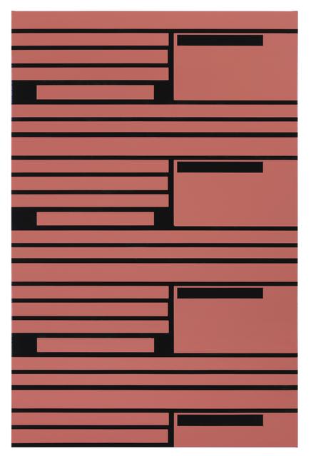 , 'Orange and Pink lines,' 2016, Borzo Gallery