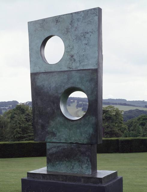 Barbara Hepworth, 'Squares with Two Circles', 1963, Tate Britain